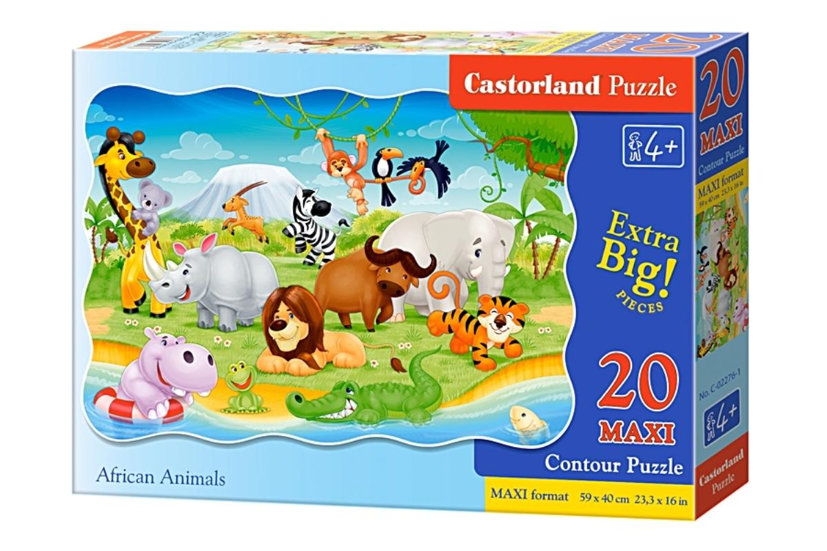 Castorland Пазл для малышей Животные Африки