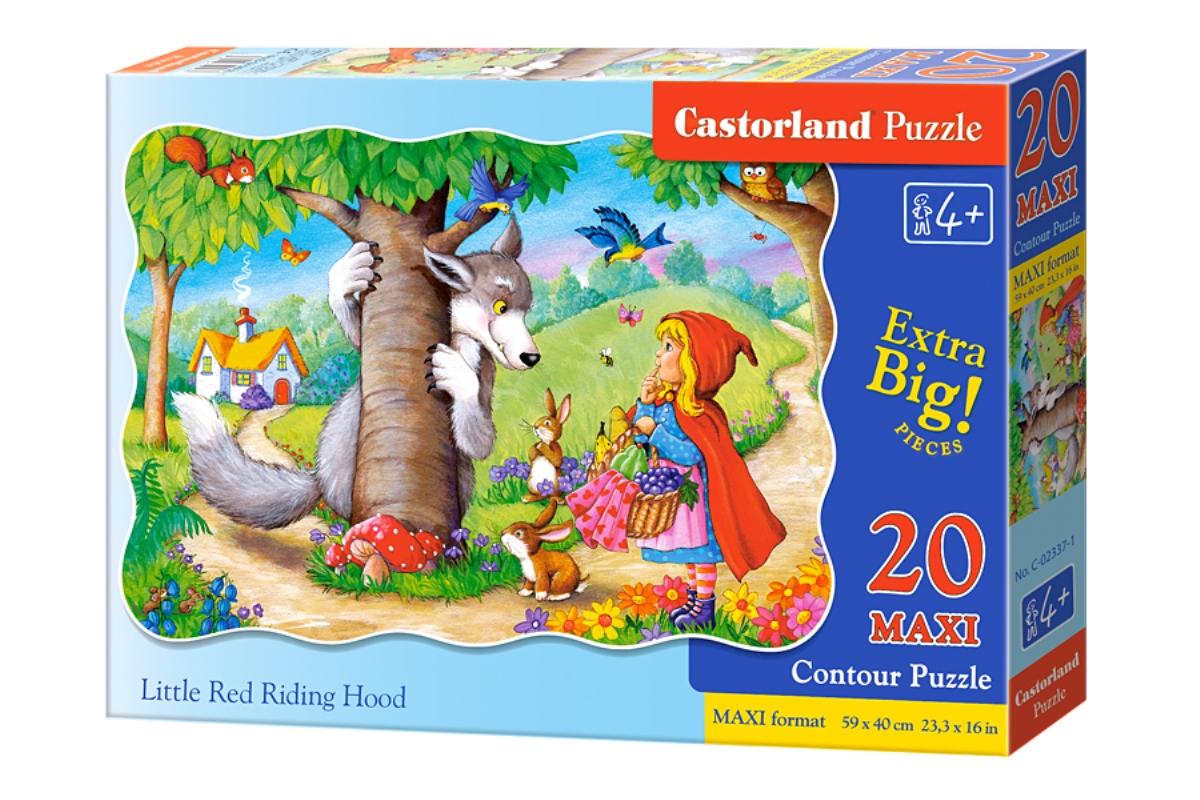 Castorland Пазл для малышей Красная Шапочка castorland пазл красная шапочка castorland 20 деталей