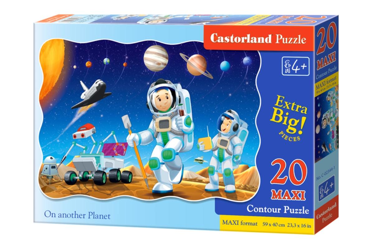 Castorland Пазл для малышей На другой планете castorland пазл дюймовочка 4 в 1