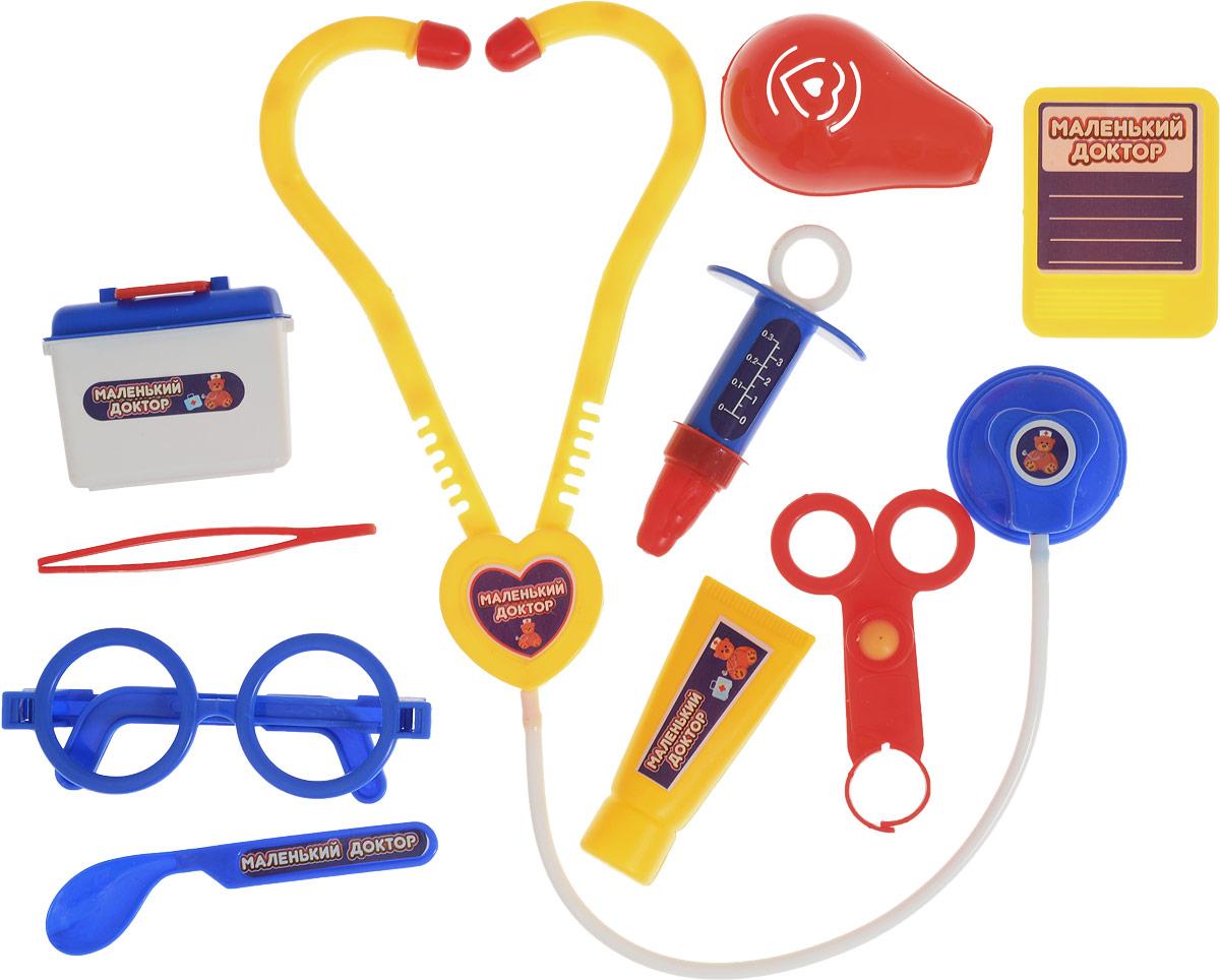 ABtoys Игровой набор Маленький доктор 10 предметов abtoys игрушечный набор маленький доктор
