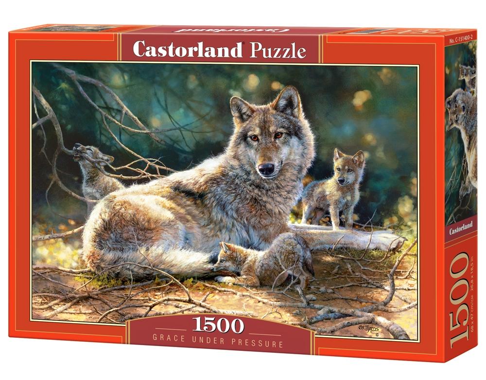 Castorland Пазл Волки C-151400