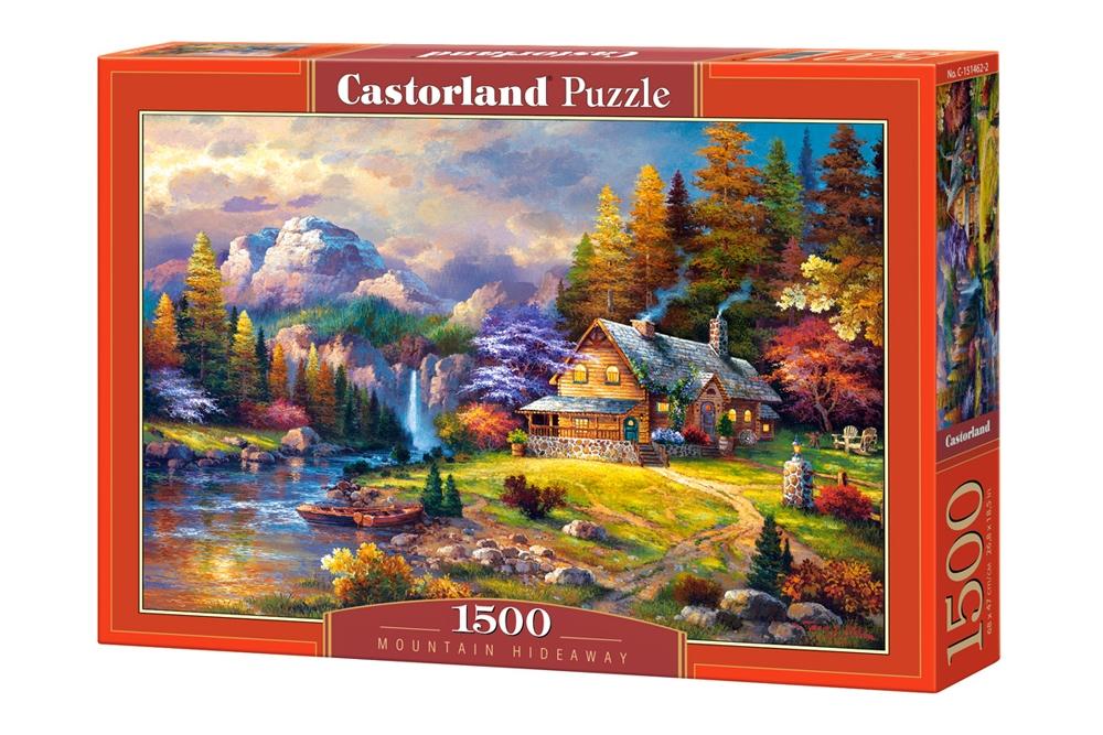 Castorland Пазл Домик в горах