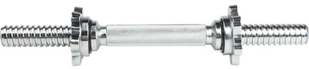 Гриф гантельный OneRun, диаметр 2,6 см, длина 35 см гриф гантельный star fit bb 106 35 см d 25 мм пластиковый с пластиковыми замками