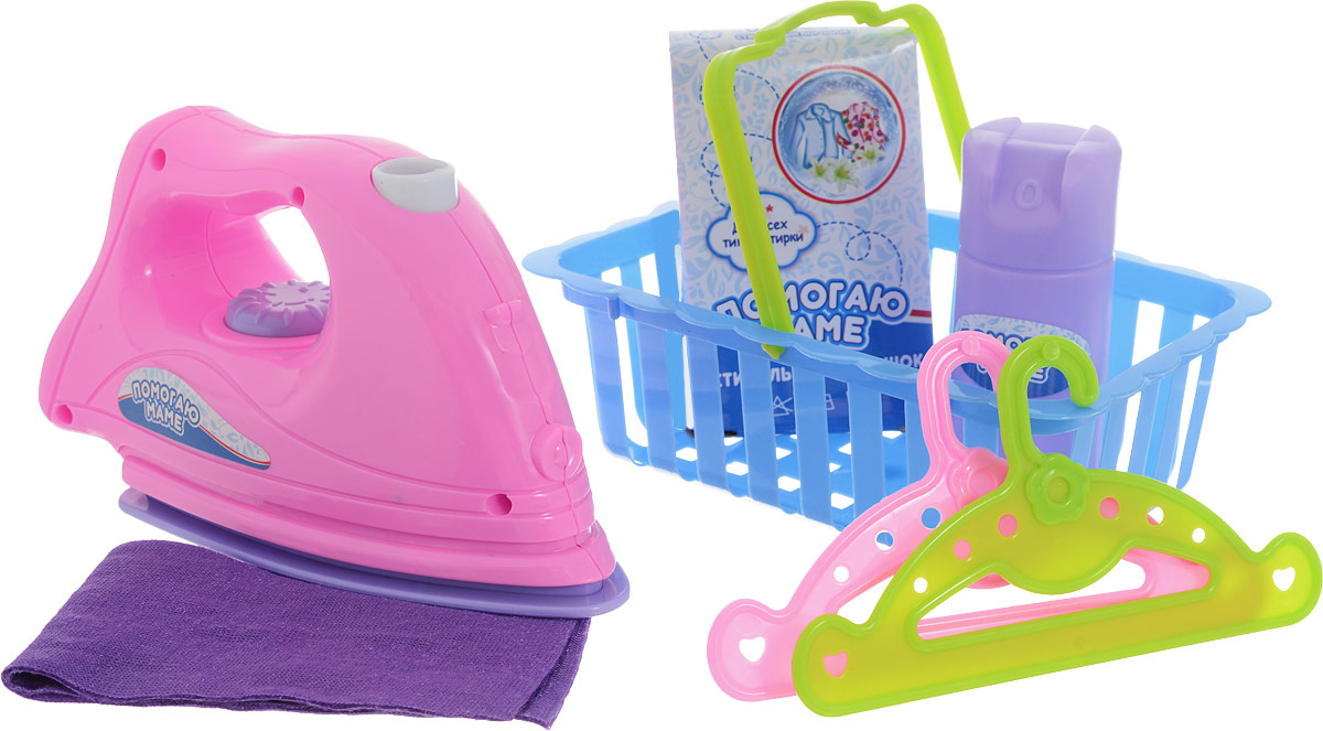ABtoys Игровой набор Гладильный 7 предметов top toys гладильный набор