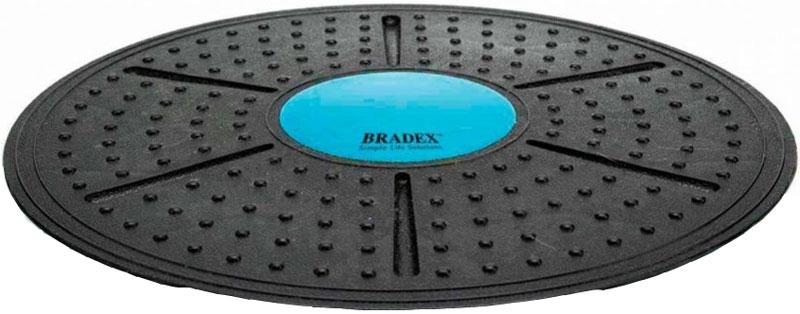 Платформа балансировочная Bradex, диаметр 36 смYG06 ЦикламеновыйПлатформа балансировочная Bradex гарантирует потрясающий эффект от тренировок, поскольку при ее использовании вы задействуетеглубокиемышцы тела, что обеспечит укрепление мышечного корсета, повышение эластичности тканей и избавление от излишнего подкожного жира. Преимущества: - Подходит для занятий как дома, так и в спортзале; - Способствует развитию равновесия; - Обеспечивает качественную работу глубоких мышц; - Увеличивает интенсивность нагрузки при выполнении упражнений. Максимальная нагрузка: 150 кг.