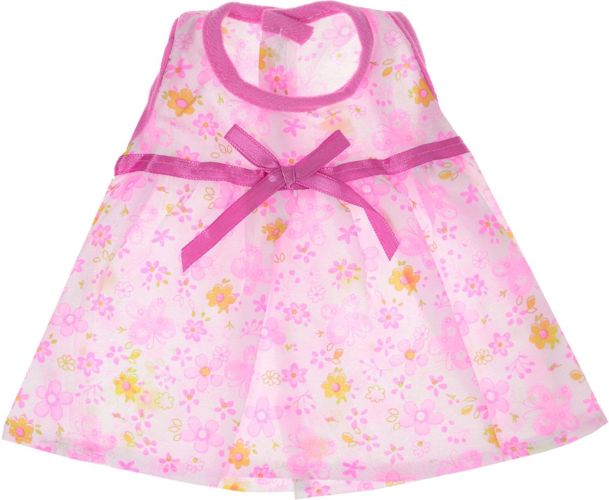 Junfa Toys Одежда для кукол Летнее платье цвет розовый