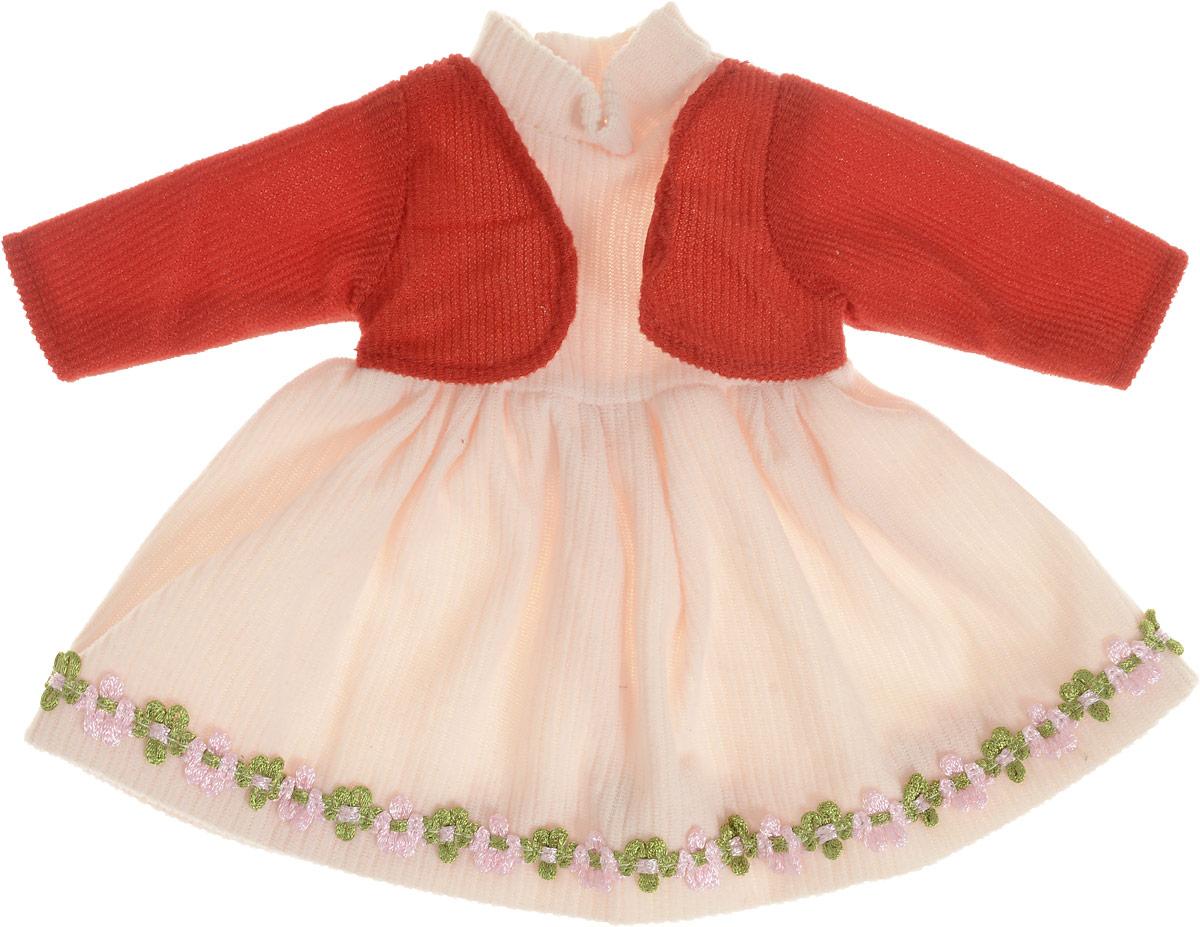 Junfa Toys Одежда для кукол Платье с кофточкой куклы и одежда для кукол bayer малышка первый поцелуй 42 см