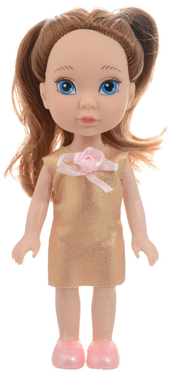 ABtoys Кукла Времена года цвет платья золотистый PT-00649 abtoys кукла зимняя фея сноусторм