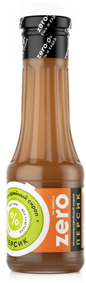 купить Mr. Djemius zero низкокалорийный сироп персик, 330 г по цене 269 рублей