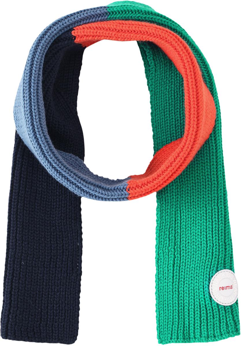 Шарф детский Reima Kesy, цвет: зеленый. 528554698A. Размер универсальный