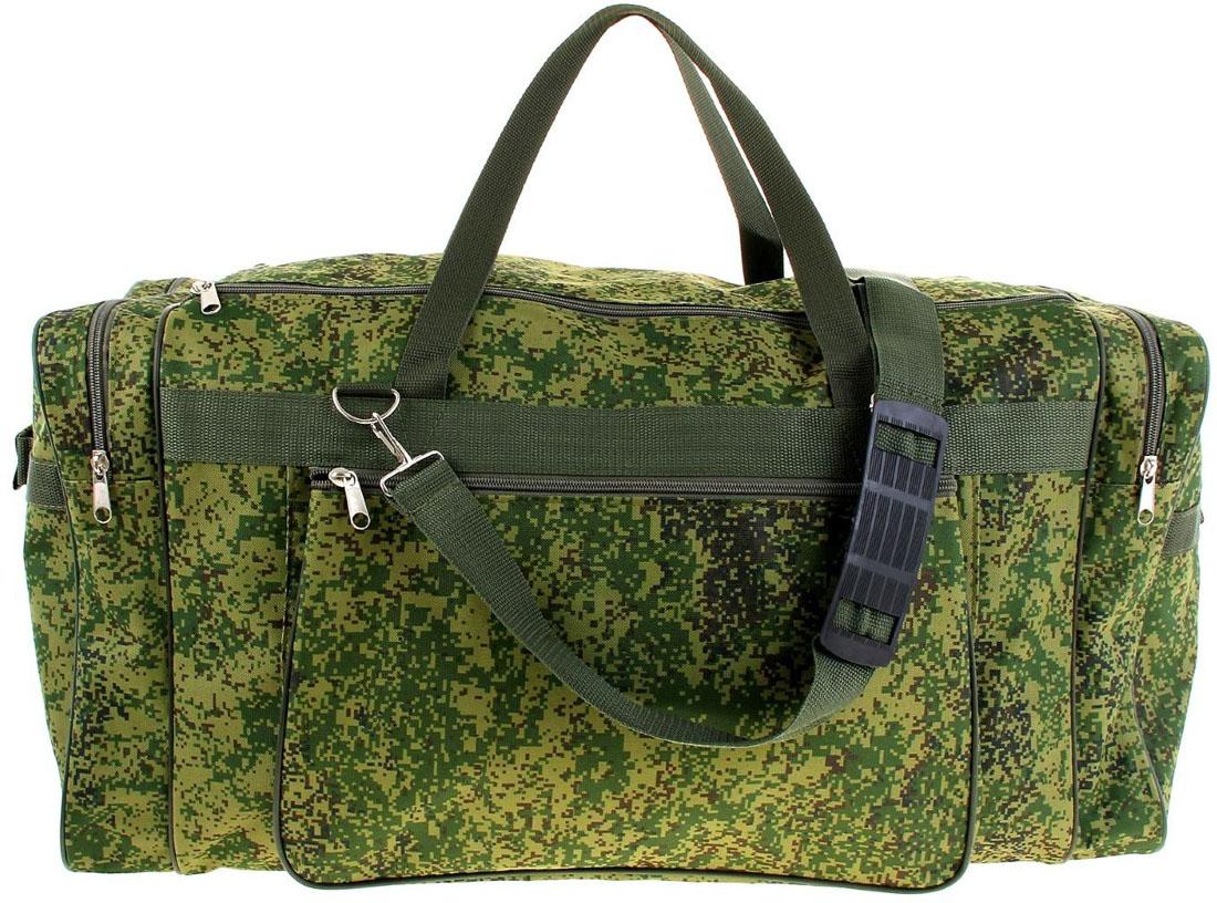 Сумка дорожная ZFTS, цвет: зеленый. 10325451032545Модная дорожная сумка ZFTS предназначена для тех, кто собирается в путешествие или деловую поездку.В большое отделение вместятся необходимые вещи: от нижнего белья до верхней одежды. А удобные карманы предназначены для хранения предметов первой необходимости: косметички, зубной щётки или влажных салфеток. Теперь не надо будет перерывать весь багаж в поисках нужной вещи. Порядок в сумке поможет всегда быть в курсе того, где и что лежит.Модель оснащена широкими ручками и длинным съёмным ремнём для комфортной переноски. Дорожный аксессуар прослужит много лет, так как изготовлен из прочного текстиля, устойчивого к выцветанию.