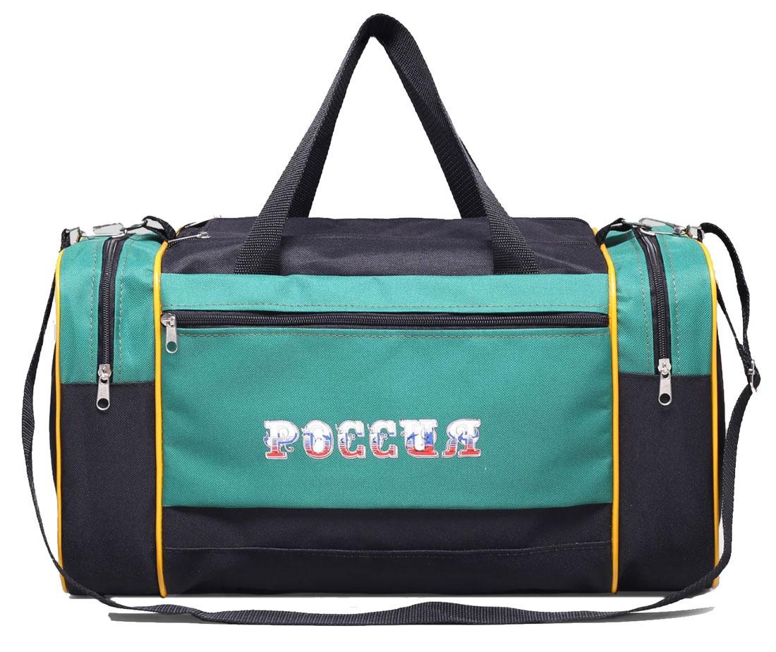 Сумка дорожная ZFTS, цвет: зеленый, черный. 1794350 сумка дорожная zfts цвет темно синий 189084
