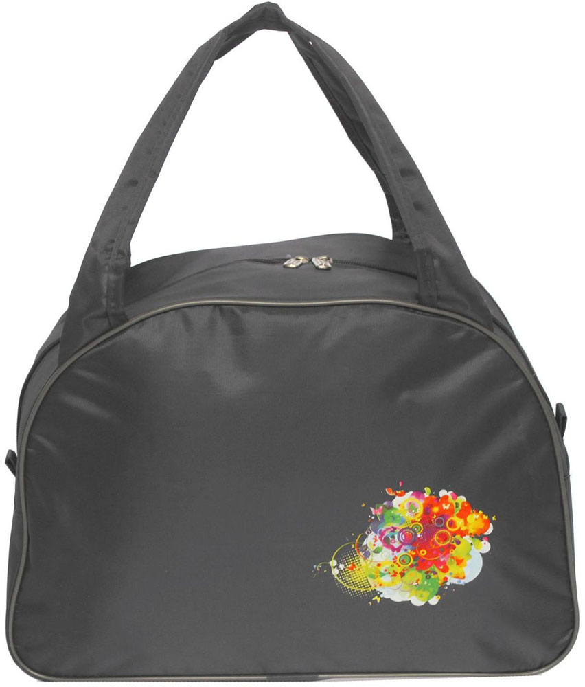 Сумка дорожная ZFTS, цвет: серый. 189081189081Универсальная сумка ZFTS будет незаменима для путешествий, поездок за город или занятий спортом. Практичный аксессуар выполнен из прочного текстиля, легко моется и не требует особого ухода.Основное отделение с застёжкой на молнии вместит большое количество вещей и предметов, таких как спортивная одежда и обувь, предметы гигиены для похода в фитнес-клуб и так далее. Две широкие ручки равномерно распределяют нагрузку.