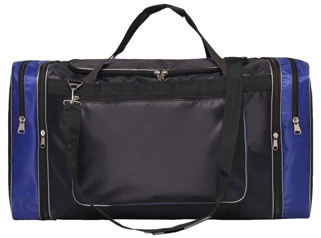 Сумка дорожная Sima-land 96а, цвет: синий, черный, 66/75 х 35 х 40. 22689162268916Дорожная сумка Sima-land, выполненная из текстиля, имеет 1 отделение на молнии и 3 кармана.Это вещь достойного качества, которая может стать прекрасным подарком по любому поводу. Маленькие, казалось бы, незначительные элементы зачастую завершают, дополняют образ, подчёркивают статус, стиль и вкус своего обладателя.