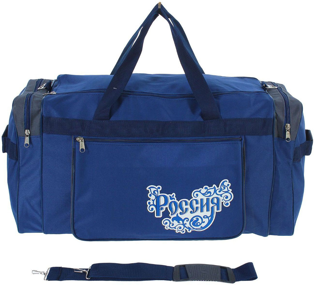 Сумка дорожная ZFTS, цвет: синий. 768169 сумка дорожная zfts цвет темно синий 189084
