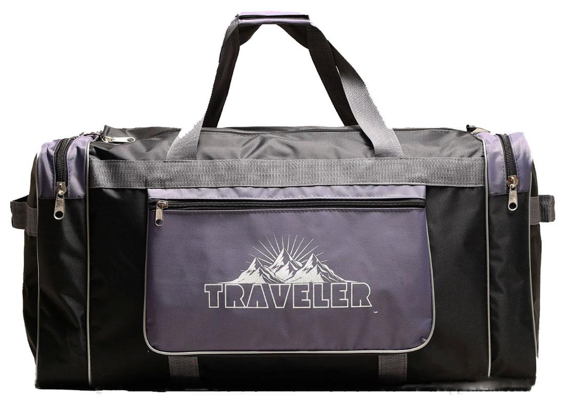 Сумка дорожная ZFTS, цвет: серый. 780696780696Модная дорожная сумка ZFTS предназначена для тех, кто собирается в путешествие или деловую поездку.В большое отделение вместятся необходимые вещи: от нижнего белья до верхней одежды. А удобные карманы предназначены для хранения предметов первой необходимости: косметички, зубной щётки или влажных салфеток. Теперь не надо будет перерывать весь багаж в поисках нужной вещи. Порядок в сумке поможет всегда быть в курсе того, где и что лежит.Модель оснащена широкими ручками и длинным съёмным ремнём для комфортной переноски. Дорожный аксессуар прослужит много лет, так как изготовлен из прочного текстиля, устойчивого к выцветанию.