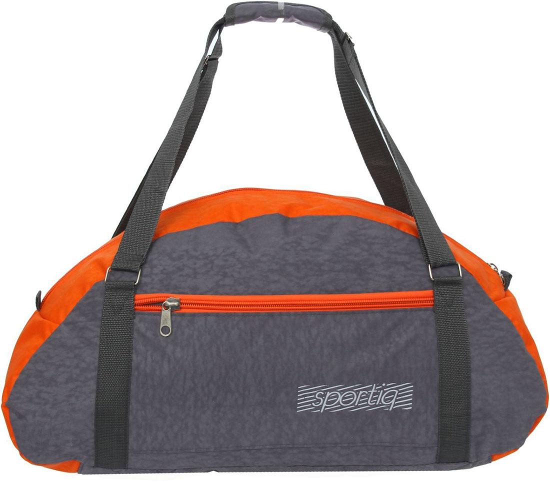 Сумка дорожная ZFTS, цвет: серый. 866230866230Модная дорожная сумка ZFTS предназначена для тех, кто собирается в путешествие или деловую поездку. В большое отделение вместятся необходимые вещи: от нижнего белья до верхней одежды. А удобный карман предназначен для хранения предметов первой необходимости: косметички, зубной щётки или влажных салфеток. Теперь не надо будет перерывать весь багаж в поисках нужной вещи. Порядок в сумке поможет всегда быть в курсе того, где и что лежит. Модель оснащена широкими ручками и длинным съёмным ремнём для комфортной переноски. Дорожный аксессуар прослужит много лет, так как изготовлен из прочного текстиля, устойчивого к выцветанию.