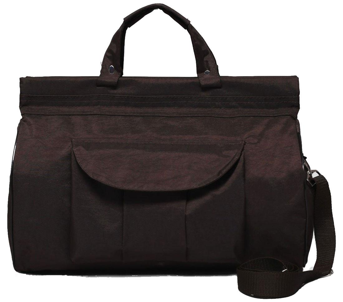 Сумка дорожная Arlion, цвет: коричневый. 21792292179229Дорожная сумка Arlion прекрасно подойдет для поездок. Она выполнена из прочного текстиля. Большое отделение закрывается на молнию. Имеет внешний нашивной карман на клапане.Сумка завершит и дополнит образ, подчеркнет стиль, статус и вкус своего обладателя.Это вещь достойного качества, которая может стать прекрасным подарком по любому поводу.Сумка имеет плечевой регулируемый ремень.Размер: 43 х 18 х 31 см.