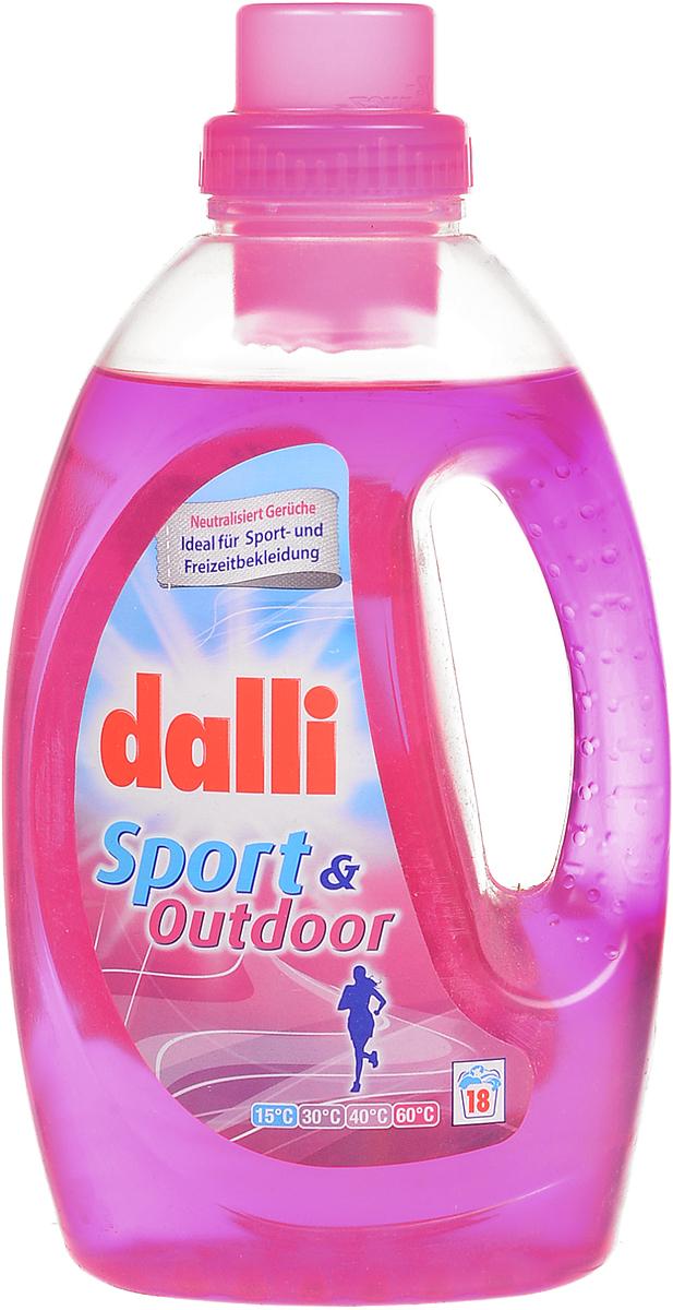Гель для стирки синтетических изделий и спортивной одежды Dalli Fresh & Clean, 1,35 л naillook переводные татуировки для кутикулы 12 8 см х 8 см