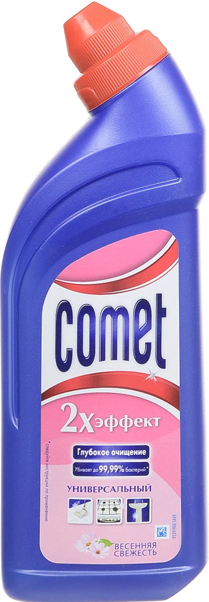 Универсальный чистящий гель Comet Двойной эффект, весенняя свежесть, 500 мл чистящий гель для кухни каждый день 500 мл