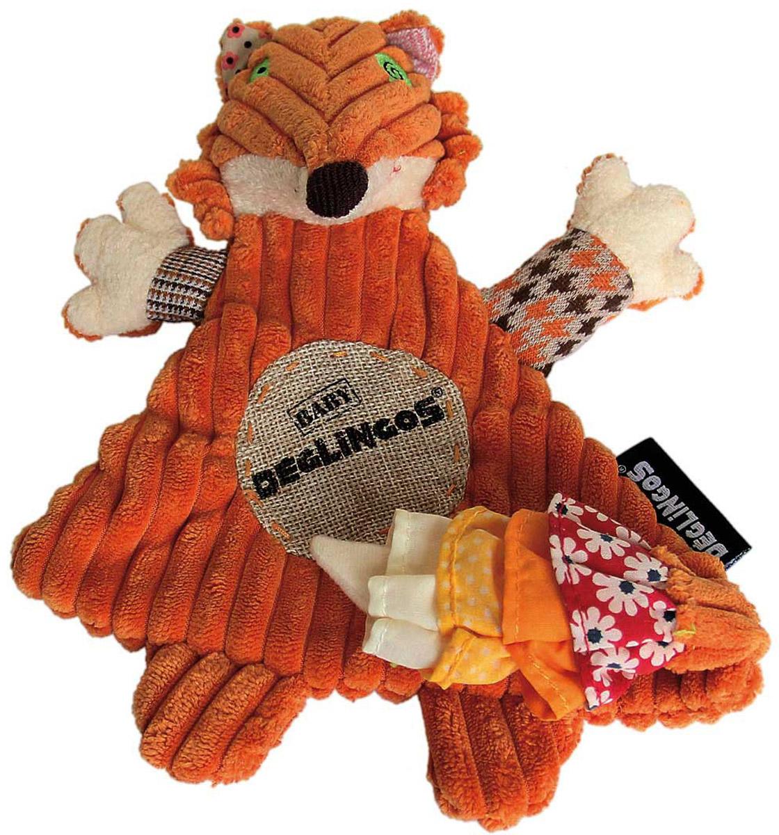 Deglingos Baby Мягкая Игрушка Лисичка Kitschos deglingos baby мягкая игрушка собачка nanos