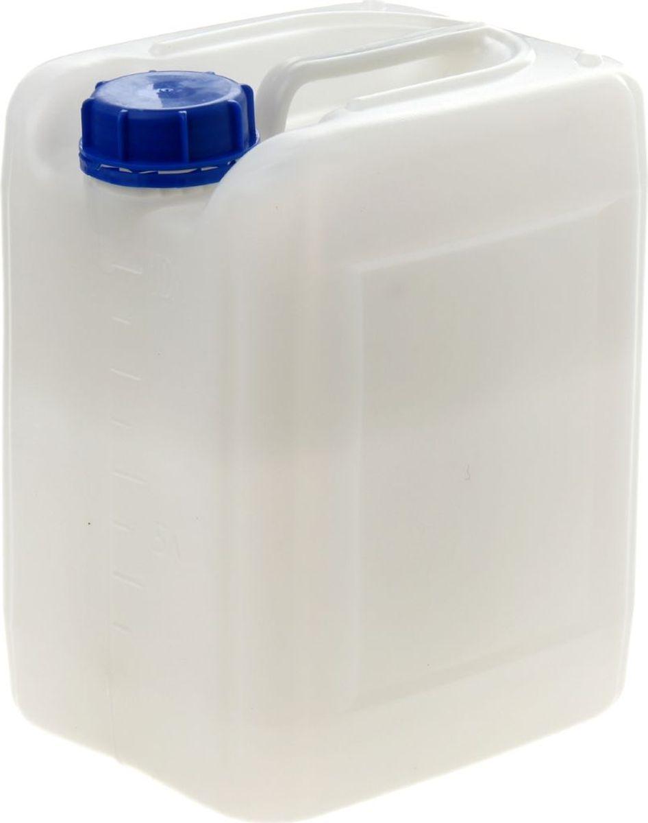 Канистра Радиан Евро, цвет: белый, 10 л1003072Нам часто приходится хранить и транспортировать различные жидкости. Для грамотной организации этих процессов требуются специальные пластиковые тары. Канистра 10 л Евро, цвет белый — идеальное решение для упаковки, хранения и перевозки: жидких удобрений, промышленных жидкостей и масел, технической воды. Качественный пластик обеспечивает сохранность содержимого, не изменяя его свойств. Кроме того, изделие имеет ряд достоинств, делающих его использование особенно удобным: возможность устойчивого штабелирования крышка-пломба защищает от несанкционированного доступа уплотнительное кольцо обеспечивает герметичность канистры объем жидкости легко определить по мерным рискам. Выбирайте качественный продукт!