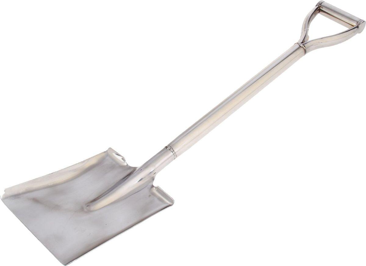 Лопата совковая Доляна, с ручкой, длина 80 см1006661Лопата - один из главных инструментов на даче и в огороде. Данная модель предназначена для уборки органического мусора, а также для погрузо-разгрузочных работ. Изделие выполнено из металла, что делает конструкцию прочной и надёжной для работы.Тип: совковая.Размер: 80 см.Материал: нержавеющая сталь.