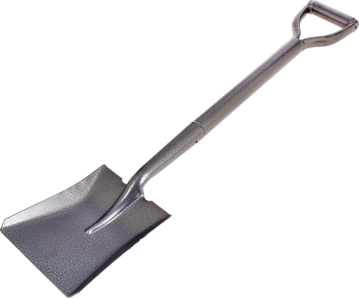 Лопата совковая Доляна, с ручкой, длина 75 см1006668Лопата — один из главных инструментов на даче и в огороде. Данная модель торговой марки «Доляна» предназначена для уборки органического мусора, а также для погрузо-разгрузочных работ. Изделие выполнено из металла, что делает конструкцию прочной и надежной для работы. Характеристики Тип: совковая. Размер: 75 см. Материал: металл. Работать в саду и огороде легко и просто вместе с лопатой «Доляна»!