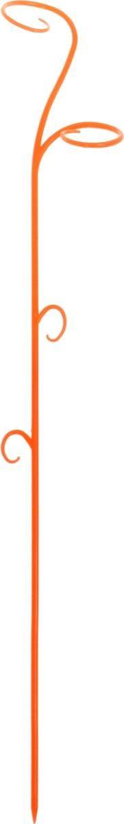Опора для растений Техоснастка Зеленый флер, цвет: оранжевый, 60 x 12 x 6 см1036537Опора для растений Техоснастка Зеленый флер выполнена в форме изящного цветка, которая украсит каждый без исключения дом. Пользоваться держателем просто: нужно лишь устойчиво закрепить его в земле, после чего подвязать к нему растение. Держатель подойдёт и для других цветов. В суете повседневных забот не стоит забывать о прекрасном.