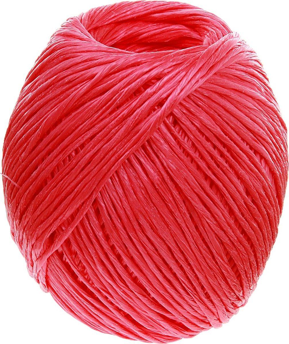 Шпагат полипропиленовый Банные Секреты, цвет: красный, 110 м1124429Шпагат полипропиленовый Банные Секреты представляет собой изделие, которое используется для бытовых и технологических нужд в различных отраслях производства. В хозяйстве его используют для сушки белья, вместо верёвки, для упаковки вещей, при хранении овощей. Изделие обладает большой прочностью. Изготавливается из очень качественного сырья первичного производства путём скручивания. Он является достаточно тонким, но при этом выдерживает большое давление. Особенности: - устойчивость к разрывам и растяжениям; - устойчивость к температурным сдвигам; - большая влагостойкость; - хорошие теплоизоляционные свойства. Материал: полипропилен. Длина: 110 м. Вес: 115 г. Диаметр: 1,6 мм.