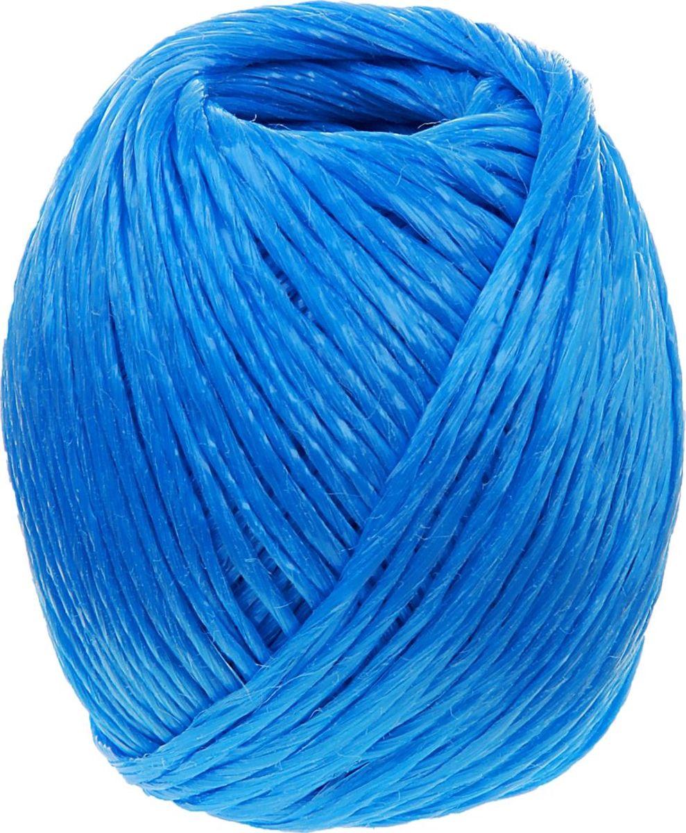 Шпагат полипропиленовый Банные Секреты, цвет: синий, 110 м1124432Шпагат полипропиленовый, 110 м, цвет синий представляет собой изделие, которое используется для бытовых и технологических нужд в различных отраслях производства. В хозяйстве его используют для сушки белья, вместо веревки, для упаковки вещей, при хранении овощей. Изделие обладает большой прочностью. Изготавливается ## из очень качественного сырья первичного производства путем скручивания. Он является достаточно тонким, но при этом выдерживает большое давление. Вместе с тем шпагат имеет определенные достоинства: небольшая стоимость устойчивость к разрывам и растяжениям устойчивость к температурным сдвигам большая влагостойкость хорошие теплоизоляционные свойства. Выбирайте надежные товары по привлекательной цене