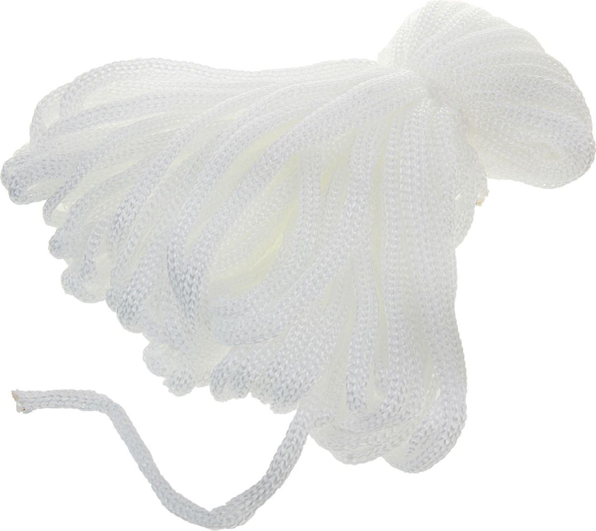 Шпагат полипропиленовый Банные Секреты, цвет: белый, 5 мм, 30 м1124437Шпагат полипропилен, 30 м, d=5 мм представляет собой изделие, которое используется для бытовых и технологических нужд в различных отраслях производства. В хозяйстве его используют для сушки белья, вместо веревки, для упаковки вещей, при хранении овощей. Изделие обладает большой прочностью. Изготавливается ## из очень качественного сырья первичного производства путем скручивания. Он является достаточно тонким, но при этом выдерживает большое давление. Вместе с тем шпагат имеет определенные достоинства: небольшая стоимость устойчивость к разрывам и растяжениям устойчивость к температурным сдвигам большая влагостойкость хорошие теплоизоляционные свойства. Выбирайте надежные товары по привлекательной цене