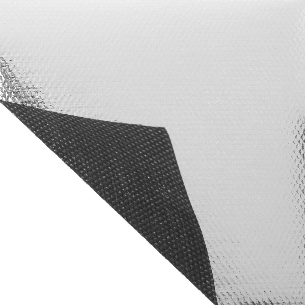 Материал укрывной Агротекс Двойное тепло, фольгированный, цвет: серебристый, черный, 5 х 1,6 м. 13092481309248Укрывной материал «Двойное тепло» — лучший выбор для выращивания рассады! Предлагаем вам убедиться в этом самим: гарантия ранней и крепкой рассады экономия средств на поливе, дополнительном освещении, гербицидах защита посадок от заморозков дополнительный свет для растений комфортный микроклимат под укрытием отсутствие необходимости прополки. Как работает «Двойное тепло»? Через нетканый материал проходит свет: часть его попадает на растение, а часть — на фольгированную мульчу. Затем снова отражается и попадает на фольгированную полосу на укрывном материале. В результате растение получает максимум света, так необходимого для дальнейшего развития. Укрывной материал «Двойное тепло» идеален для рассады огурцов, томатов, перцев, баклажанов и зелени. «Агротекс» заботится о вашем урожае, а мы заботимся о низкой цене и большом выборе.