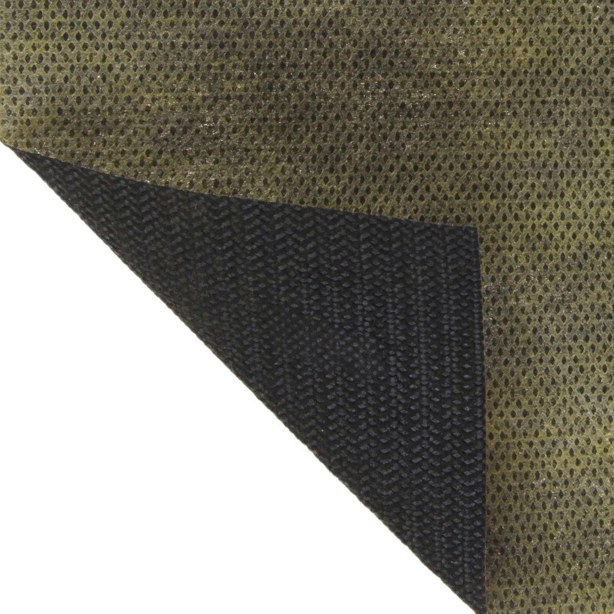 Материал укрывной Агротекс, мульчирующий, цвет: хаки, черный, 5 х 1,6 м1309251Многофункциональность, надежность и высокое качество - вот отличительные черты армированного укрывного материала Агротекс. Назначение: мульчирование посадок - защита от вредителей и сорняков.Выгода:-избавление от вредителей;-весь сезон растения не нуждаются в прополке;-чистые плоды и ягоды;-экономия средств на борьбе с сорняками, на поливе за счет отсутствия потерь растений.С надежным мульчирующим материалом вы достигнете больших результатов, затрачивая меньше усилий. Плюсы материала: -защита от вредителей - слой цвета хаки (внешний) привлекает вредителей на себя, а не на растение;-надежная защита культур от сорняков;-под материалом влага удерживается дольше;-меньше болезней и загнивания благодаря отсутствию контакта с землей.Двухцветный мульчирующий материал идеально подходит для капусты, томатов, перцев, баклажанов, огурцов и зелени.