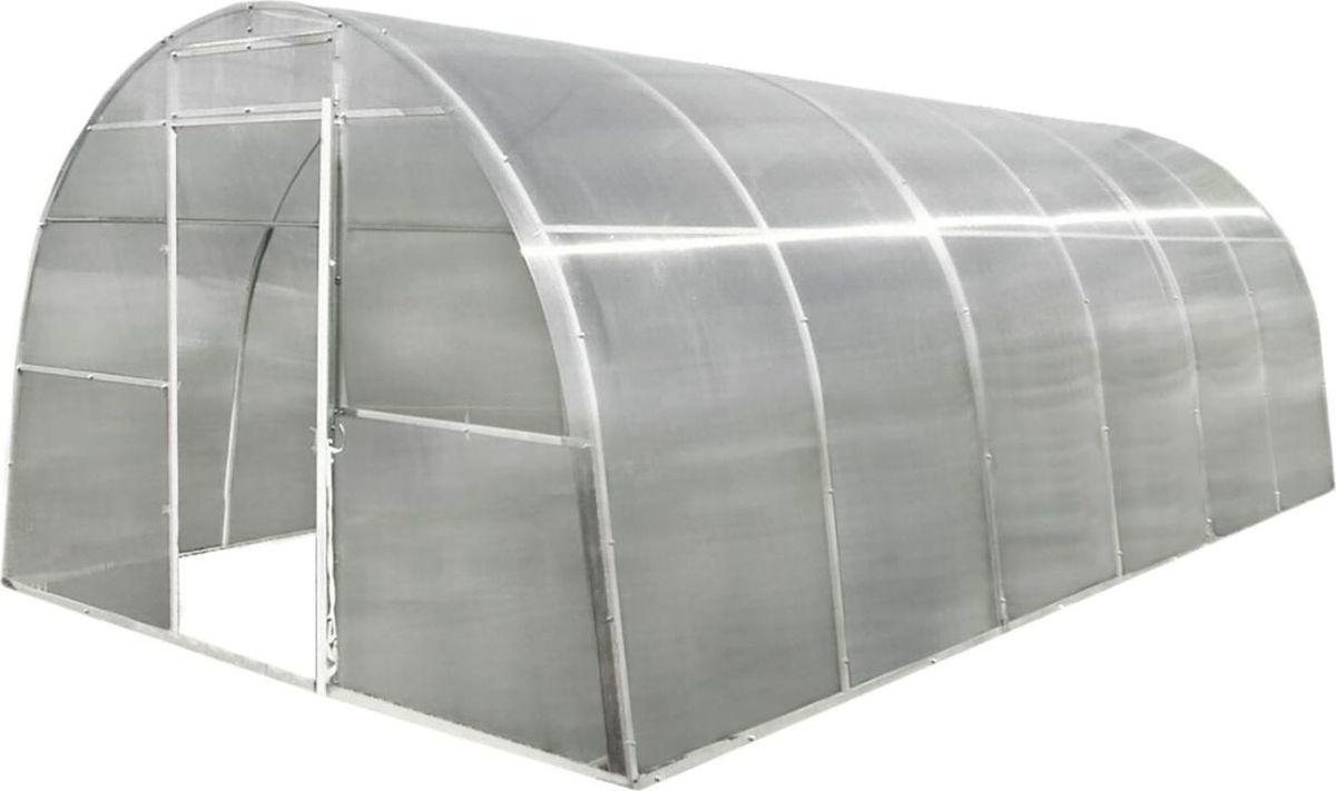 Каркас теплицы Уралочка-Комфорт, 4 х 3 х 2 м . 13285341328534Теплица &mdashнезаменимая вещь на любом садовом участке. С её помощью вы сможете выращивать теплолюбивые растения в условиях сурового климата, обеспечивая себе ранний и обильный урожай. Позаботьтесь о своих посадках заранее: установите на участке надёжную сборную теплицу &laquo Уралочка&raquo .В комплект входят: каркас теплицы 4х3x2 мкровельные сверлоконечные саморезы с резиновой шляпкой (для крепления поликароната).Поликарбонат в комплект НЕ ВХОДИТ.Характеристики теплицы Теплица создаёт благоприятный микроклимат внутри укрываемого пространства, что позволяет улучшить почвенно-климатические условия на защищённом грунте. Каркас дуги: профильная труба 20х20х1 мм. Каркас основания: профильная труба 20х20х1,2 мм. Размер теплицы в собранном состоянии: 4х3х2 м. Расстояние между дугами: 1 м. Покраска: порошковая антикоррозийная. Время сборки: 2?3 часа (2 человека). Вес: 55 кг.ВажноДля установки теплицы фундамент не требуется. Можно использовать любые штыри, которые имеются в хозяйстве у покупателя (рекомендуемая длина штыря&mdash 70 см).Если вы захотите осуществить монтаж теплицы на фундаменте, вам понадобятся анкерные болты (в комплект не входят).При желании можно увеличить длину теплицы, используя удлинитель.
