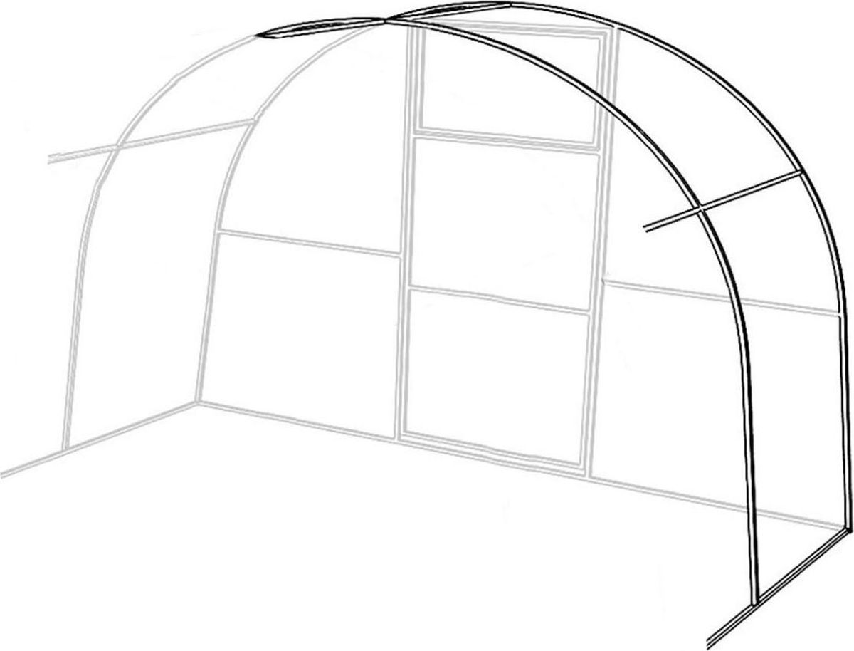 Удлинитель теплицы  Уралочка-Комфорт , 2 х 3 х 2 м . 1328535 - Парники и теплицы
