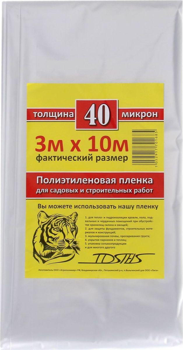 Пленка укрывная Tdstels, 3 х 10 м 13529691352969Полиэтиленовая плёнка Tdstels - многофункциональна и неприхотлива к условиям хранения. Она способствует звуко-, теплоизоляции и защищает от влаги, краски, грязи или пыли.Используйте материал для:покраски автомобиля;гидрозащиты, гидроизоляции;укрытия пола и мебели во время ремонта;изоляции кровли;перевозки мебели в ненастную погоду;укрытия парников, силосных ям;упаковки;мульчирования растений.