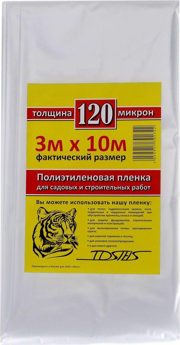 Пленка укрывная Tdstels, 3 х 10 м. 13529721352972Пленка укрывная Tdstels изготовлена из прочного полиэтилена. С ее помощью вы избавитесь от многих хлопот. Сфера применения материала чрезвычайно широка:-тепло- и гидроизоляция кровли, пола, подвальных и чердачных помещений при обустройстве хранилищ силоса и овощей;-укрытие парников и теплиц;-мульчирование почвы и пропаривание грунта;-упаковка сельхозпродукции.Эксплуатационные преимущества изделия:-прочный полиэтилен непроницаем для влаги и пыли;-материал изготовления отличается надежностью и долговечностью;-изделие неприхотливо к условиям хранения и эксплуатации.