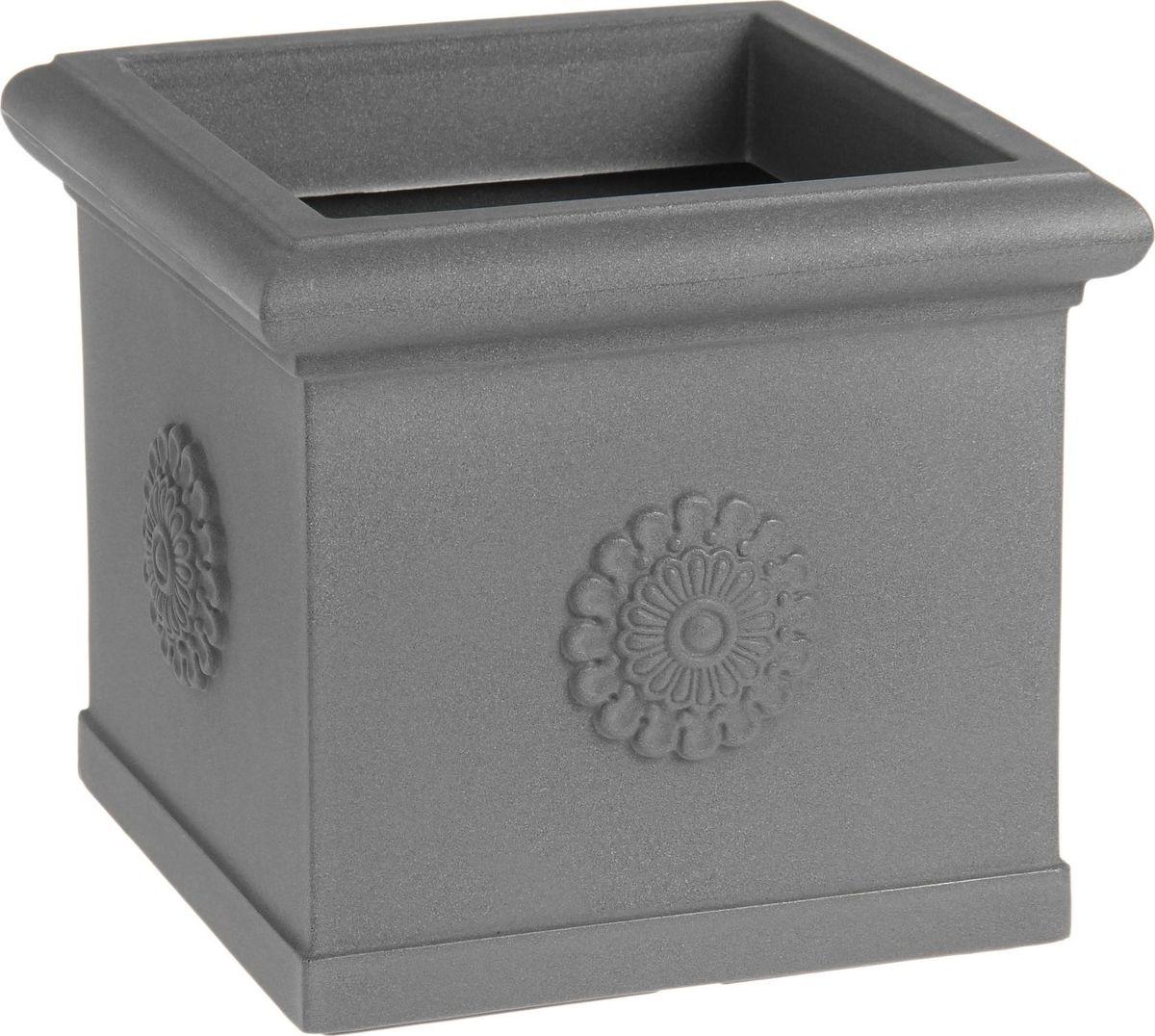 Вазон ЗАО Пластик Византия, цвет: серебристый металл, 30 л1442666Декоративная ваза «Византия» — это классическая форма, притягивающий взгляд цвет, монументальность и величественность.Она пригодится для самых разных целей:позволит украсить гостиную или офисстанет стильным подарком на юбилей или свадьбупревратится в реликвию, которую можно будет передавать из поколения в поколение.Ваза, изготовленная из качественного полимерного материала, станет заметной деталью интерьера и наполнит помещение атмосферой роскоши.Без красоты мир был бы тусклее. Наполните свою жизнь прекрасным!Внутренний размер - 35х35 см.