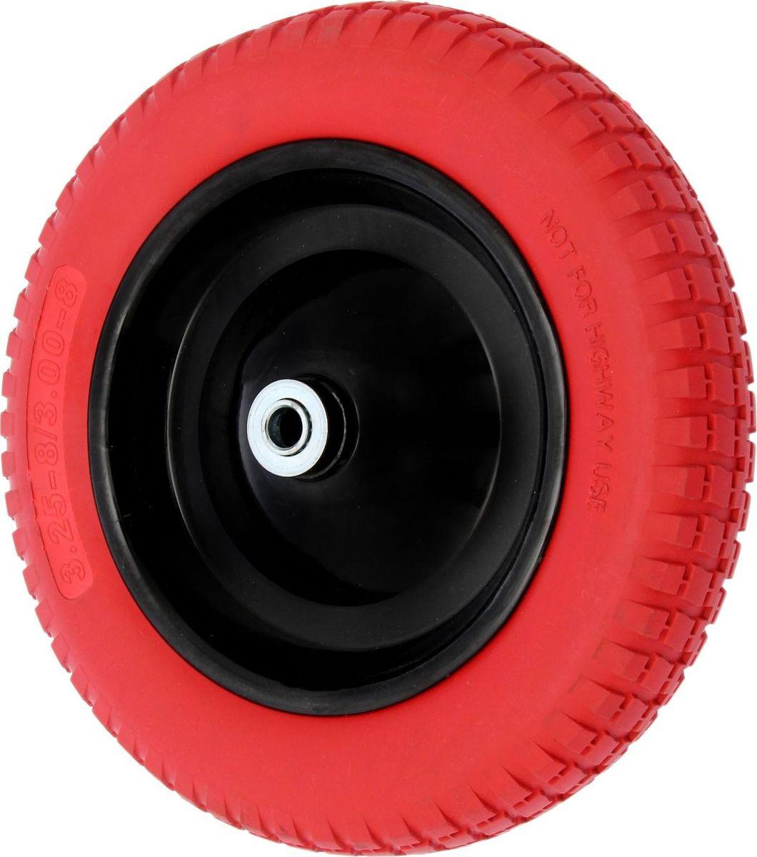 Колесо запасное для тачки, с подшипником, диаметр колеса 34 см1446808Колесо является запасным элементом для тачки. Колесо имеет резиновую шину и яркий крашенный диск. Шариковый металлический подшипник обеспечивает прочность и надежность конструкции.Диаметр колеса: 34 см.Посадочный диаметр оси: 1,8 см. Диаметр отверстия под ступицу: 3,8 см.