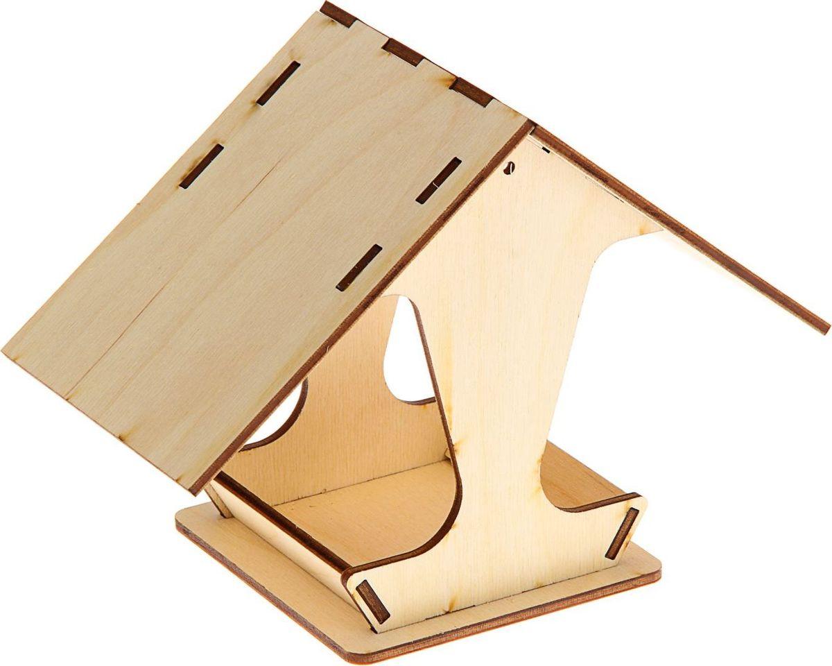 Кормушка для птиц ТД ДМ, 10,5 х 10,5 х 15 см1544642Кормушка для птиц ТД ДМ, раскроет неожиданные способности у вашего ребёнка. Сборная конструкция изделия изготовлена из дерева.