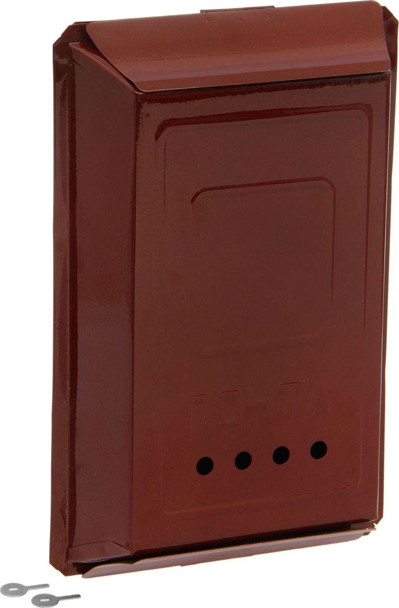 Ящик почтовый Хоздвор Классика, замок-щеколда, цвет: коричневый, 41 х 27 х 7,5 см1797539Используйте почтовый ящик для получения корреспонденции, счетов, журналов в загородном доме или на даче. Он компактный, вместительный и прослужит вам долгие годы.Особое порошковое напыление защищает поверхность от царапин. Изделие не ржавеет от дождя и снега.На задней стенке корпуса есть специальные отверстия для крепления. Замок-щеколда отвечает за сохранность содержимого.