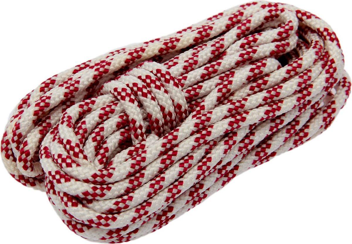 Шнур плетеный, 6 мм, 10 м1827797Универсальный бытовой шнур изготовлен из прочного полипропилена. Шнур очень крепкий и надежный, подойдет как для бытового использования, так и для профессиональной деятельности. Диаметр шнура: 6 мм.Длина шнура: 10 м.