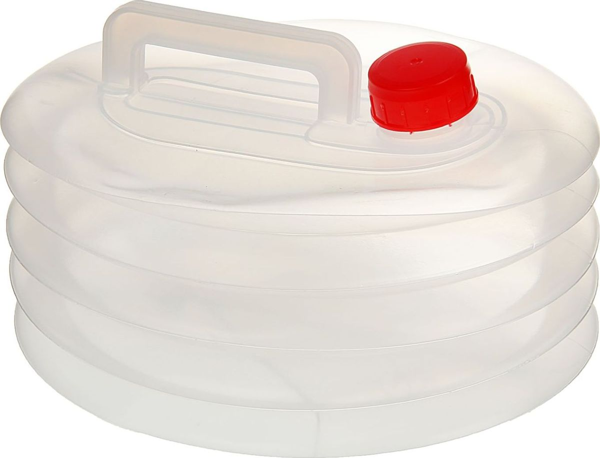 Канистра для воды НПП Технохим, складная, 7 л1987518Складная канистра НПП Технохим на 7 литров, изготовленная из очень прочного пищевого пластика, несомненно, пригодится вам во время путешествия. В сложенном виде канистра занимает очень мало места. Заполняется канистра с помощью откручивающегося вентиля, на крышке имеется специальный кран-клапан, делающий подачу воды максимально удобной. Канистра оснащена крепкой ручкой.