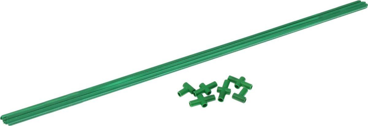 Комплект для сборки парника, диаметр 12 мм, 5 х 0,9 м зажим для крепления пленки к каркасу парника garden show диаметр 20 мм 10 шт