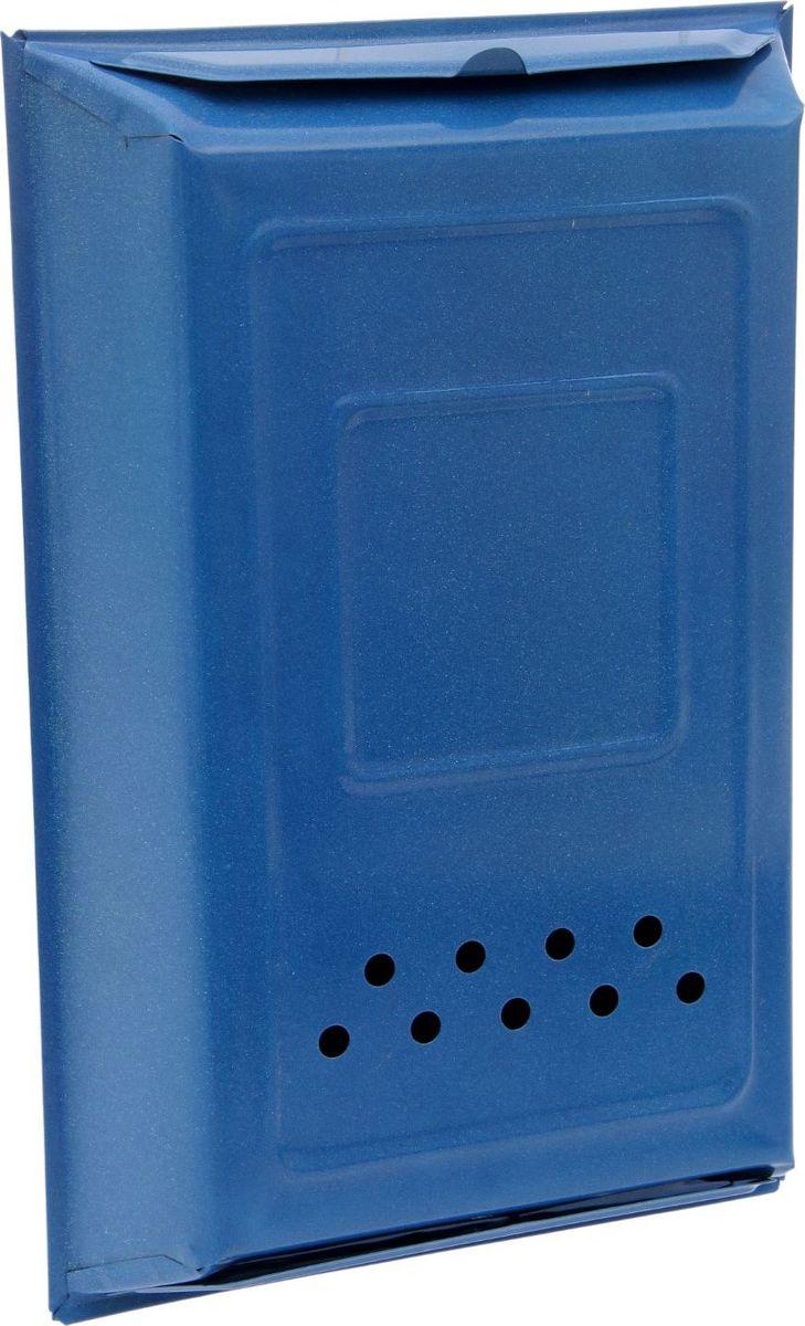 Ящик почтовый, с защелкой, цвет: синий, 39 х 26 х 6 см2143921Почтовый ящик - то, что актуально во все времена. Несмотря на распространение интернета и мобильной связи, мы продолжаем получать бумажные счета, информационную корреспонденцию, ну а кто-то по-прежнему остаётся верен старым добрым конвертам. Чтобы не терять связи с неэлектронными сферами жизни, обзаведитесь почтовым ящиком. Установите его в удобном месте... и пишите письма!