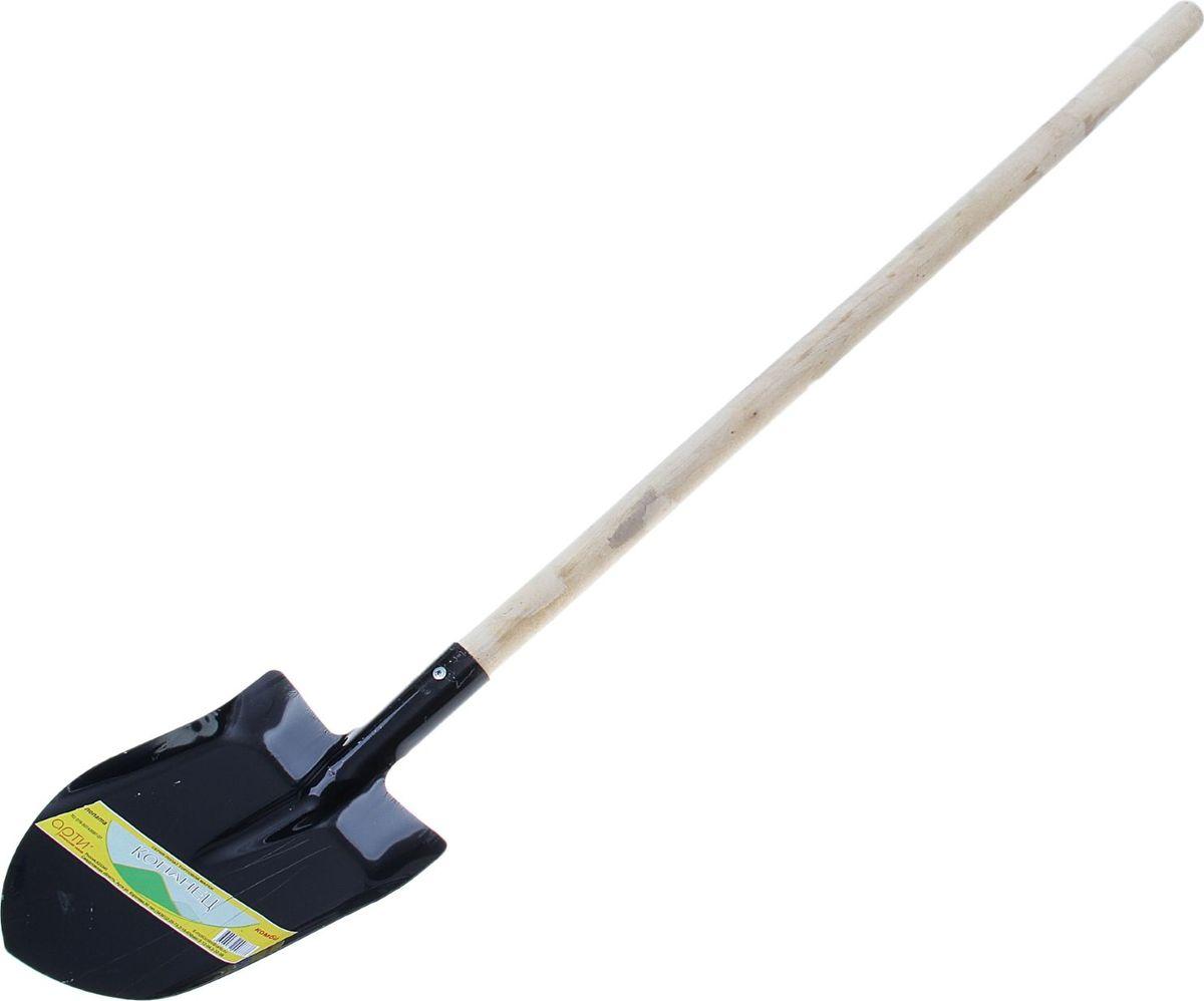 Лопата штыковая Арти Копанец-Комби, с черенком, длина 138 см мини лопата штыковая truper с черенком d ручка 69 см