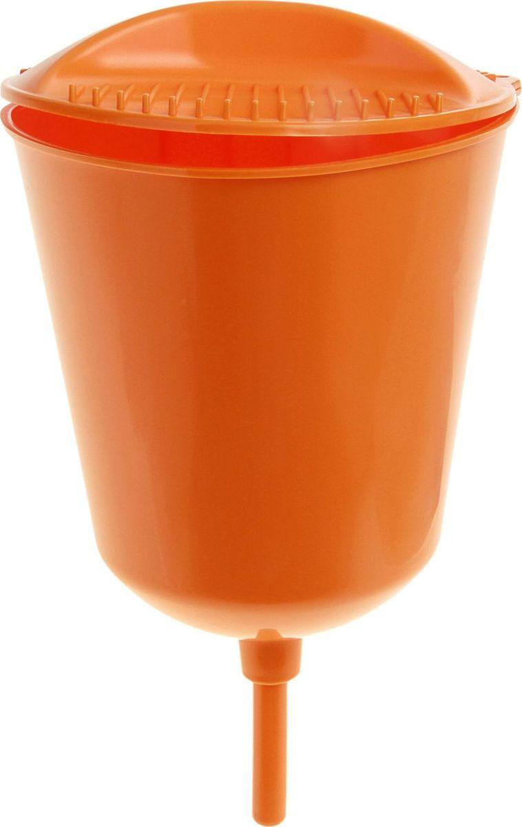 Рукомойник Berossi, цвет: оранжевый, 3 л868864Чистота - залог здоровья! Рукомойник поможет вам поддерживать чистоту рук на вашем дачном участке. Крышка плотно прилегает к рукомойнику, что препятствует попаданию грязи и пыли в воду. На рукомойнике расположена встроенная мыльница.В комплекте с товаром поставляются все необходимые дюбеля и шурупы для надежного крепления рукомойника в удобном для вас месте.