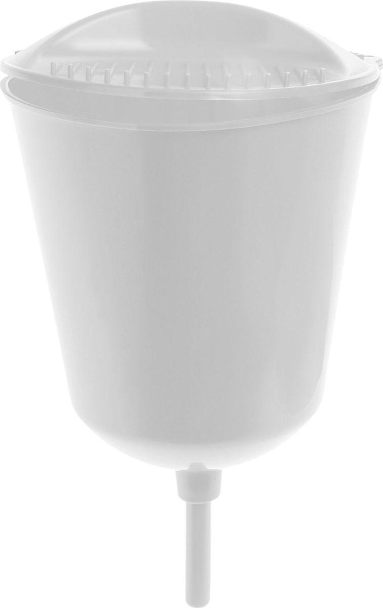 Чистота - залог здоровья! Рукомойник поможет вам поддерживать чистоту рук на вашем дачном участке. Крышка плотно прилегает к рукомойнику, что препятствует попаданию грязи и пыли в воду. На рукомойнике расположена встроенная мыльница.  В комплекте с товаром поставляются все необходимые дюбеля и шурупы для надежного крепления рукомойника в удобном для вас месте.