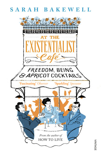 At The Existentialist Cafe dmitrii emets no way out at the entrance